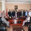 Adana ESOB Başkanı'ndan Başkanımıza ziyaret