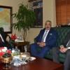 Belediye Başkanımız Musa Öztürk, Vali Coş'u Ziyaret Etti