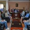 Avrupalı Eğitimcilerden Başkanımıza ziyaret