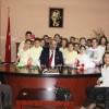 Şabanata İlkokulu'ndan Başkanımıza ziyaret