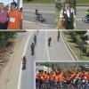 Kurtuluş bisiklet yarışı yapıldı