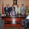 Kadir Kanat BaşkanMusa Öztürk'ü ziyaret etti