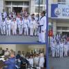 Taekwondocu öğrenciler  başkandan salon istedi