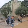 Belediyemiz Fidanoğlu Camisi Bahçesine Parke Döşedi
