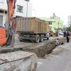 Kozan'da Yağmur Suyu Drenaj Hattı Çalışmaları Devam Ediyor