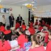 Başkanımız İnkılap İlkokulunu Ziyaret Etti