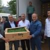Kozan'da Üreticilere 26 Bin 500 Adet Domates Fidesi Dağıtıldı