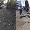 Kozan Belediyesi Yol kumlama ve Asfaltlama çalışması