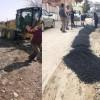 Kozan Belediyesi'nden Yol Kumlama Çalışması