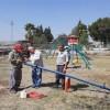 Kozan Belediyesinden Parklarda bakım onarım ve yenileme çalışması