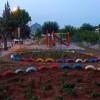 Kozan'da atık lastikler parklarda kullanılıyor