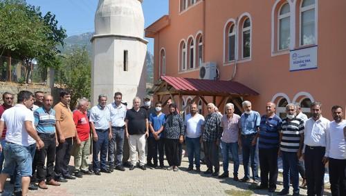 Başkan Özgan; Durmuşlu, Çulluuşağı, Orçan ve Düzağaç köylerinde