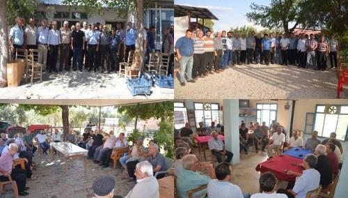 Başkan Özgan Köy ziyaretlerine devam ediyor