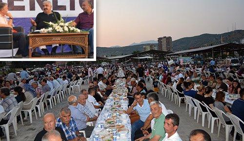 Binlerce Kozanlı iftar sofrasında buluştu