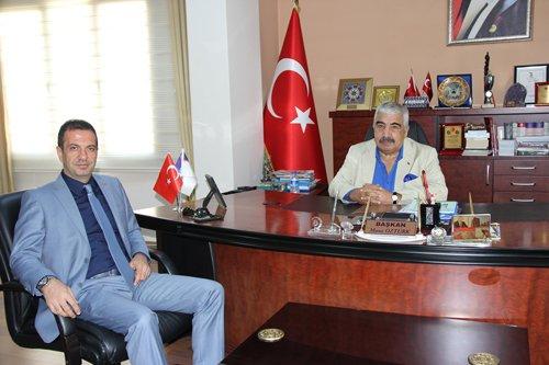 Kaymakam Gürçam'dan Başkanımıza İade-i Ziyaret