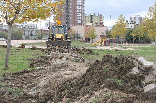 Belediyemizden Yeni Park İnşaatı