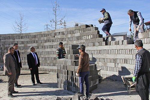 7 Bin 200 Metrekarelik Parkın İnşaatı Devam Ediyor
