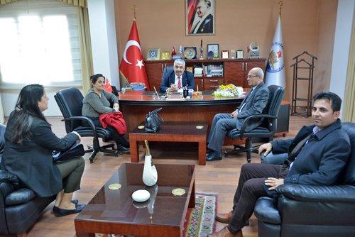 Başhekim Bayram'dan Başkanımıza Ziyaret