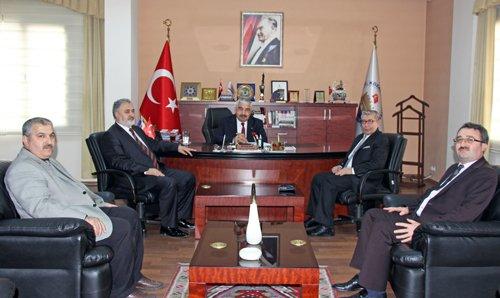 İl Müftüsü Çınar'dan Başkanımıza Ziyaret
