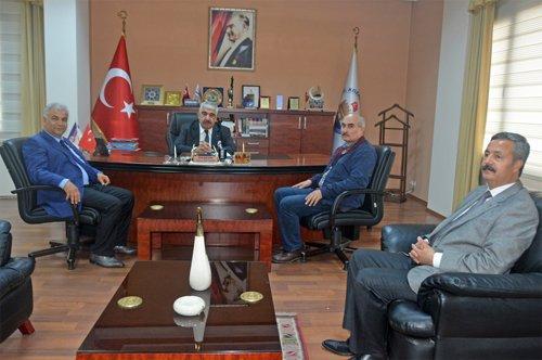 Türk Eğitim-Sen'den Başkanımıza Ziyaret