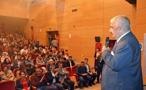 Başkanımız Türk Eğitim-Sen'in Tiyatrosuna Katıldı