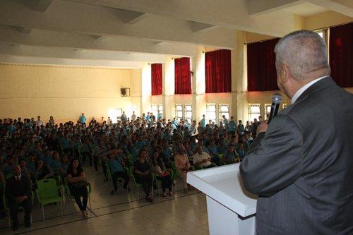 Başkanımız Öğrencilerle Buluştu