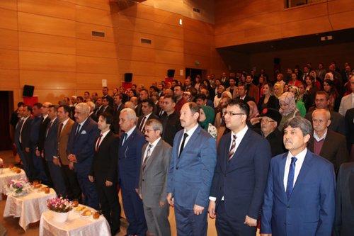Kozan'da 'Öğretmenler Günü' kutlandı