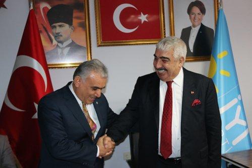Başkanımız CHP ve İYİ Parti İlçe Başkanlıklarını Ziyaret Etti