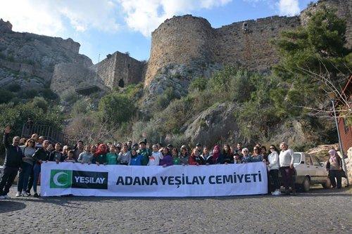 Kozan'da Yeşilay Haftası Etkinliği Düzenlendi
