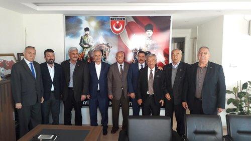 Başkanımız Kuvayi Milliye Mücahitler derneği Genel merkezini ziyaret