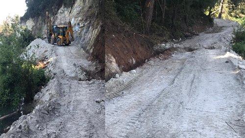SODES-Dağılcak arası yürüyüş yolunun açılması için çalışma başlatıldı