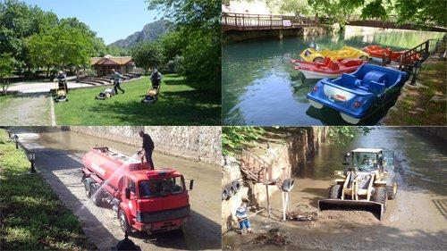 Atatürk Parkı Tekrardan Pırıl Pırıl