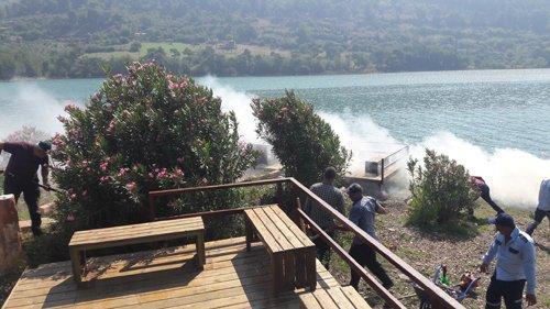 Kozan'da Piknik Alanlarında Temizlik