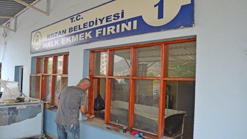 Belediyemiz Ekmek Fabrikasında Tadilat Çalışması
