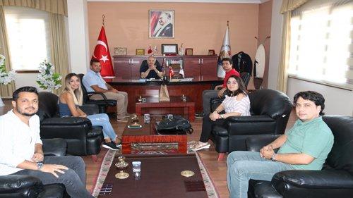 Jeofizik Mühendisleri Odası Adana Şubesinden Başkanımıza ziyaret