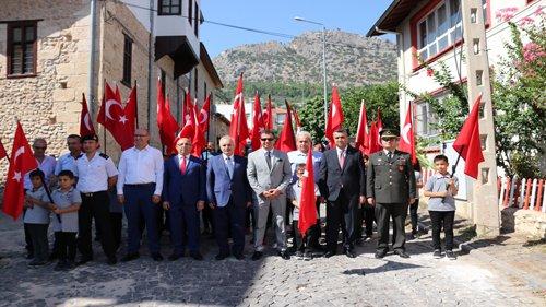 19 Eylül Gaziler Günü Kozan'da törenlerle kutlandı
