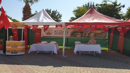 """İzmir'de """"2.Adana Tanıtım Festivalinde"""" Kozan'ı tanıttık"""