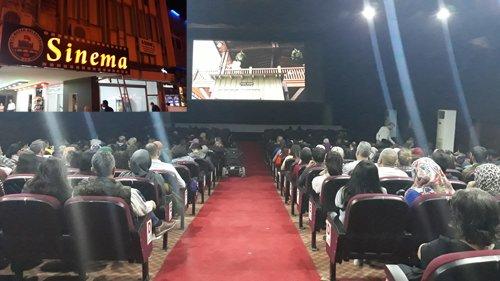 Belediye Sinema Salonu Yenilenen Yüzü İle Hizmetinizde