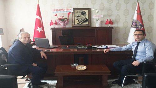 Başkan Özgan'dan Müdür Büyükatak'a Ziyaret