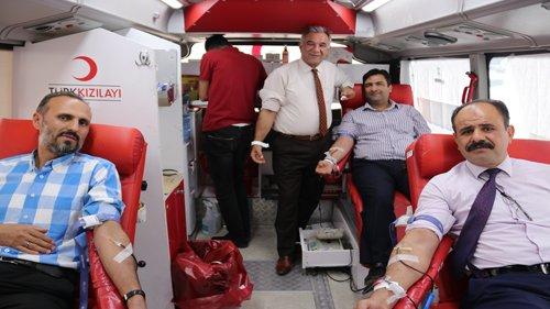 Kozan Belediyesi'nden  Kan Bağışına Destek