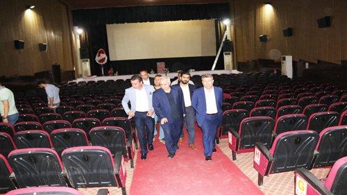 Kozan Belediye Sinema Salonu yenileniyor