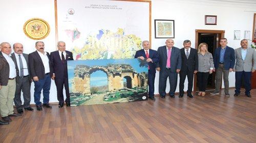 Adana Toros Dernekleri Federasyonundan Başka Özgan'a  Ziyaret
