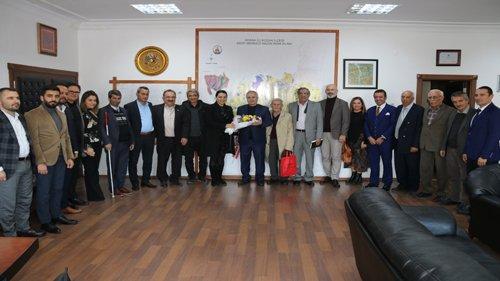 Kent Konseyinden Başkanımız  Özgan'a Ziyaret