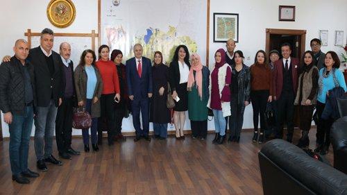 Tapanlılar Derneği'nden Başkanımıza Ziyareti