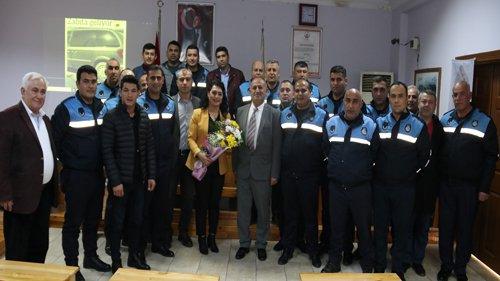 """Kozan Belediyesinde Zabıtalara """"Etkili İletişim"""" Semineri"""