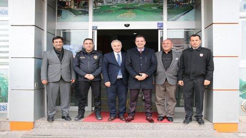 İlçe Protokolünden Başkan Özgan'a Ziyaret