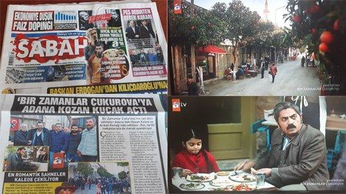 Kozan Ulusal Gazetelerin Manşetinde