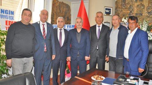 Başkan Özgan'dan Başkan Göğer'e Hayırlı Olsun Ziyareti