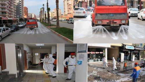 Kozan Belediyesi'nden Koronavirüs İle Mücadele