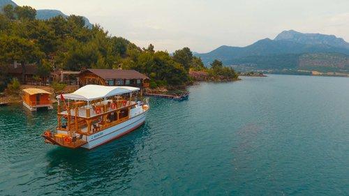Kozan Barajı'nda tekne turları başladı